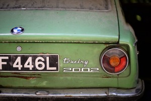 Oude auto