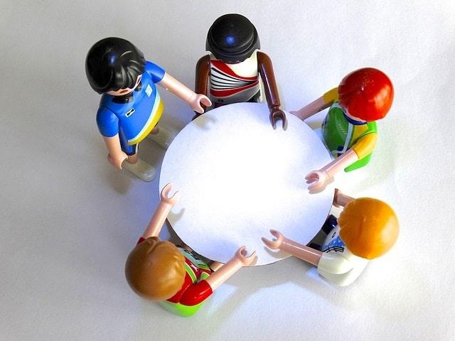 Samenwerken. Foto Pixabay