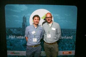 Robert en Peter op Vet Event 2016